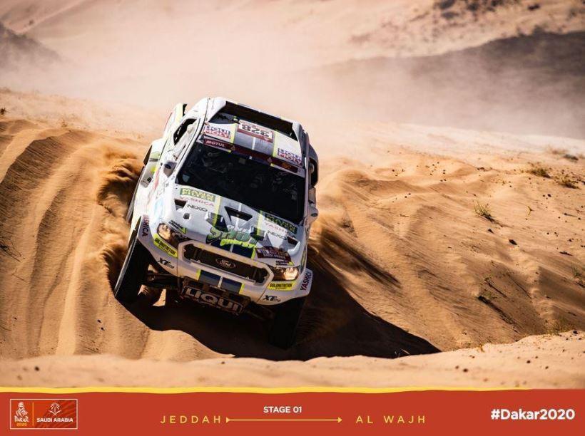 Ultimate Dakar Racing - Stage 01