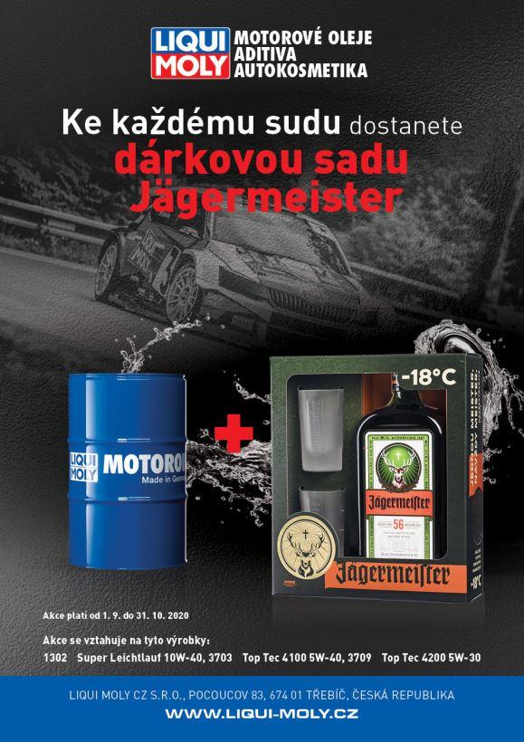 AKCE LIQUI MOLY - Jägermeister